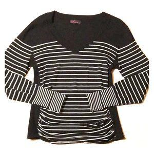 Soft & Stylish Ruched Sweater